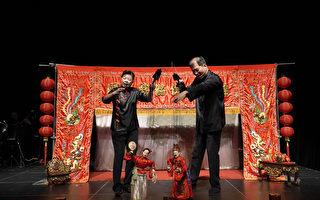 宜兰传艺展现傀儡艺术及传统皮影戏光影
