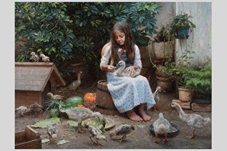 展细节之美  油画《米莱娜之爱》入围决赛