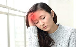 前额头痛,鼻窦炎。