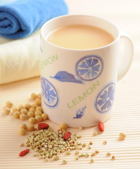 枸杞蕎麥降糖豆漿,有助降低血糖,預防多種併發症。(幸福文化提供)