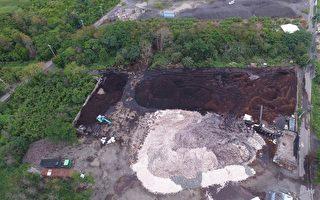 廢污泥萬餘噸  危害中南部農田