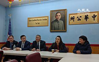 牛毓琳走訪華埠僑團  迎擊競選挑戰者
