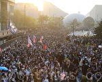 組圖2:38萬港人遊行 擠爆尖沙咀