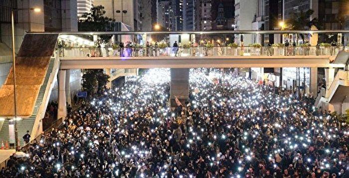 貼連儂牆遭逮 香港反送中運動首現被捕警察