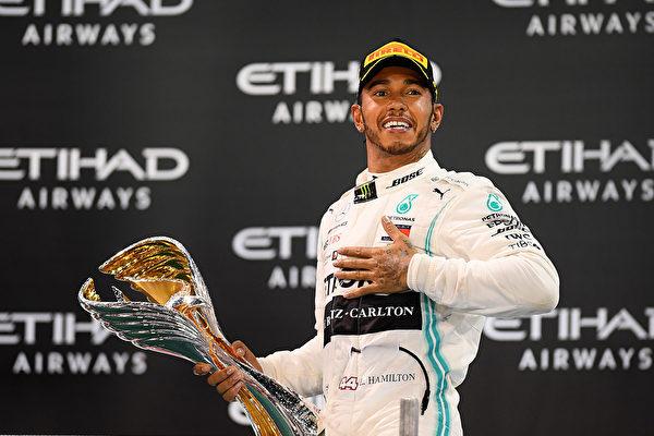 F1梅賽德斯車手漢密爾頓