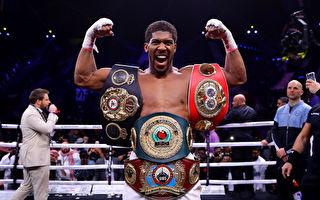 拳坛重量级世纪大战 约书亚夺回4条金腰带