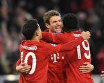 欧冠小组赛第六轮,拜仁主场3:1胜热刺