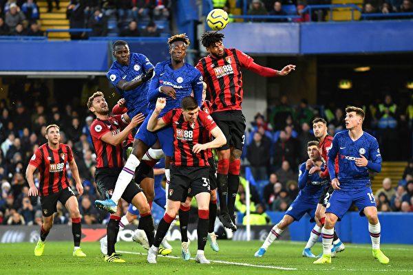 英超第17輪,切爾西在主場0:1不敵伯恩茅斯