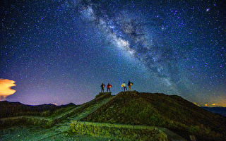 世界看见合欢山银河美景 曾进发获国际摄影大赛金牌