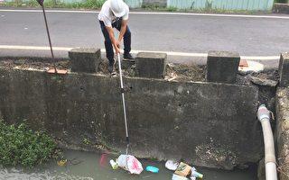 落实垃圾不落溪  共同守护河川环境