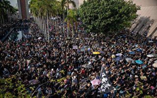 组图1:38万港人游行 挤爆尖沙咀