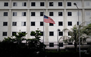 親共人士在美駐港領事館外抗議 引網民抨擊