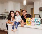 打造健康穀片品牌的威辛格一家人。(Three Wishes提供)