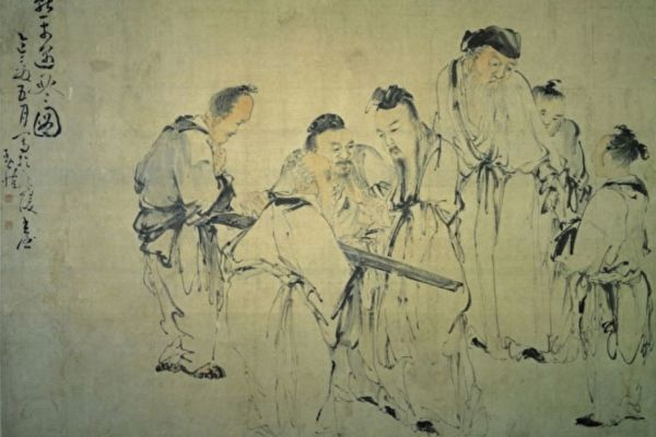 李夢陽醉罵國舅 皇帝終是捨不得打他一下