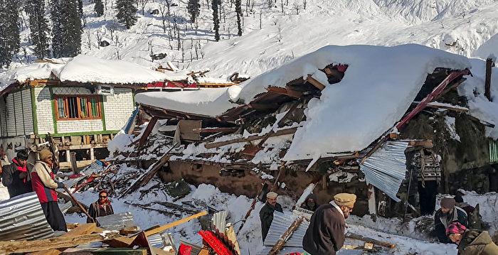克什米爾雪崩 印巴兩國至少67人遇難
