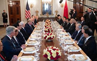 組圖:簽協議後川普宴請劉鶴 稱很快去中國