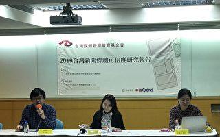"""台湾电视新闻可信度""""中天""""评价两极 专家:""""同温层""""取暖现象"""