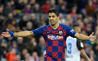 烏拉圭前鋒蘇亞雷斯(Luis Suarez)