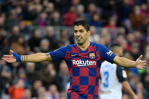 乌拉圭前锋苏亚雷斯(Luis Suarez)