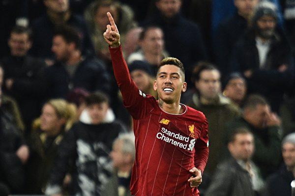 英超第22輪:利物浦擊敗熱刺