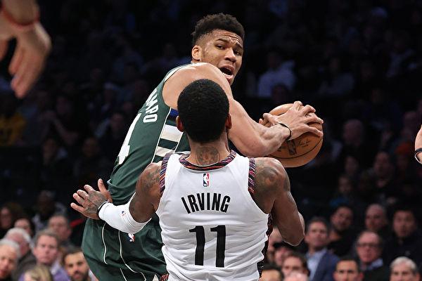 NBA雄鹿破网六连胜