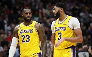 NBA湖人面对争冠球队战绩不佳 遭到质疑