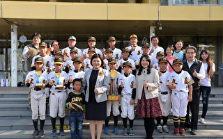 文昌国小勇夺国际软式少棒邀请赛高年级组季军