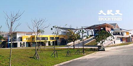 西拉雅國家風景區管理處新完工的官田行政中心。