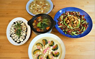 舌尖上的蓮花 繽紛蔬食團圓菜
