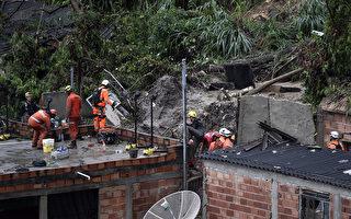 暴风雨袭击巴西 近50人死 数万人流离失所