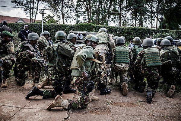 肯尼亞美軍基地遇襲 3死 4青年黨人被擊斃