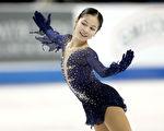 創紀錄4周跳 14歲華裔女孩蟬聯全美花滑冠軍