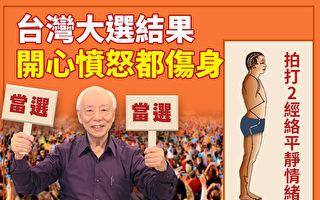 台灣大選在即,選舉症候群求診人數增加兩成,中醫如何幫你平穩情緒?(大紀元製圖)