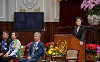 蔡英文:协助连锁加盟业拓展国际版图