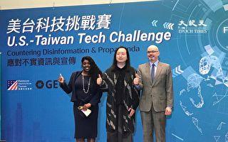 力抗中共資訊戰 美國務院/AIT舉辦「美台科技挑戰賽」