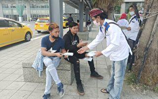 屏县府制6国外语防疫图卡 外籍移工协助宣导