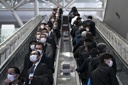 圖為戴口罩的民眾。