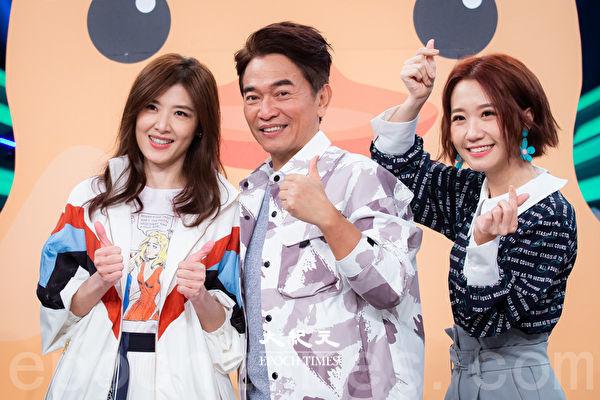 蘇慧倫(左至右)、吳宗憲、Lulu