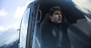 汤姆·克鲁斯在《不可能的任务:全面瓦解》伊森韩特,直升机。