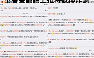 中共外交部发言人华春莹上推特 墙内外夹击