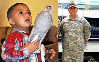 娃緊抱「爸爸公仔」玩具公司:給小孩勇氣和力量