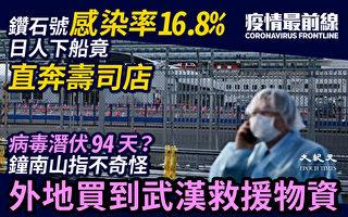 【疫情最前線】感染率16.8% 潛伏期94天?