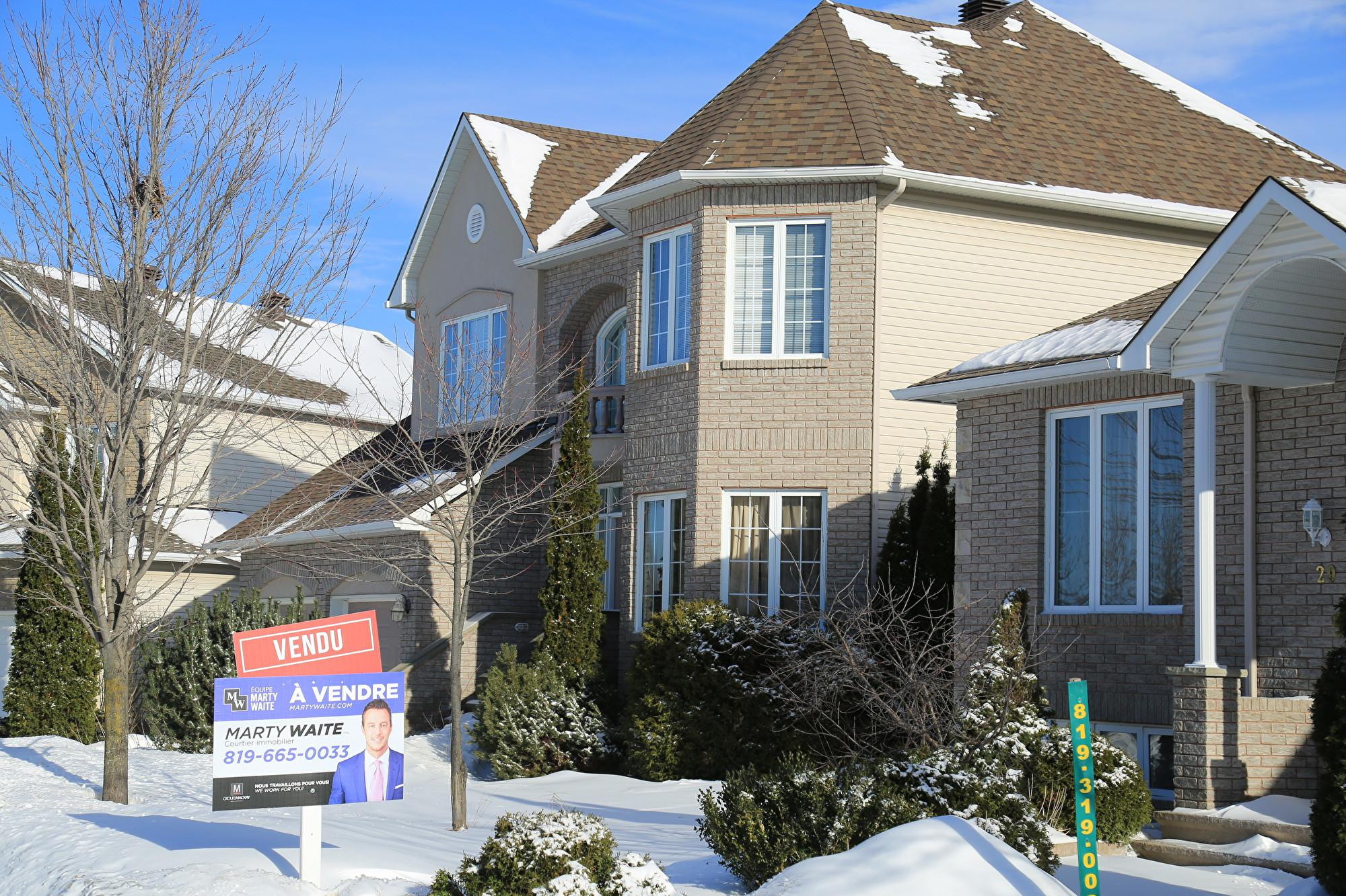 加拿大1月房價上漲 漲幅2年來最高