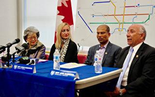 省府投数百亿改善多伦多交通  4地铁线11年完成