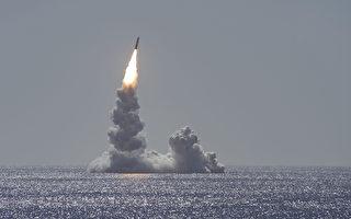 美军潜艇成功试射三叉戟飞弹 展现核威慑力