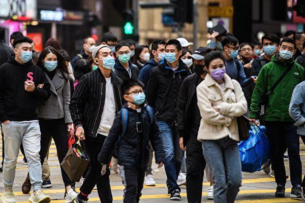 恐慌、緊張、怨憤、歧視等負面情緒會降低身體的免疫力。圖為新型冠狀病毒疫情爆發後的街道景象。(ANTHONY WALLACE/AFP via Getty Images)