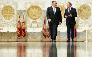蓬佩奧訪白俄羅斯 談石油供應和人權話題