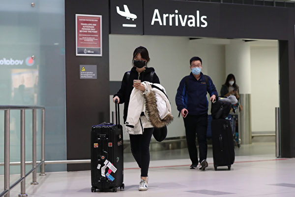 西澳应对中共病毒升级 禁止出国旅行