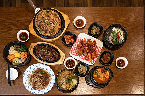 图:江南韩餐馆乔迁高贵林,曾经多数获奖,主厨希望越做越好。(童宇/大纪元)