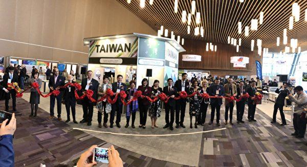圖:台灣再次參加溫哥華的全球永續環境展,以國家館形式搶佔北美商機。(王美琴拍攝)